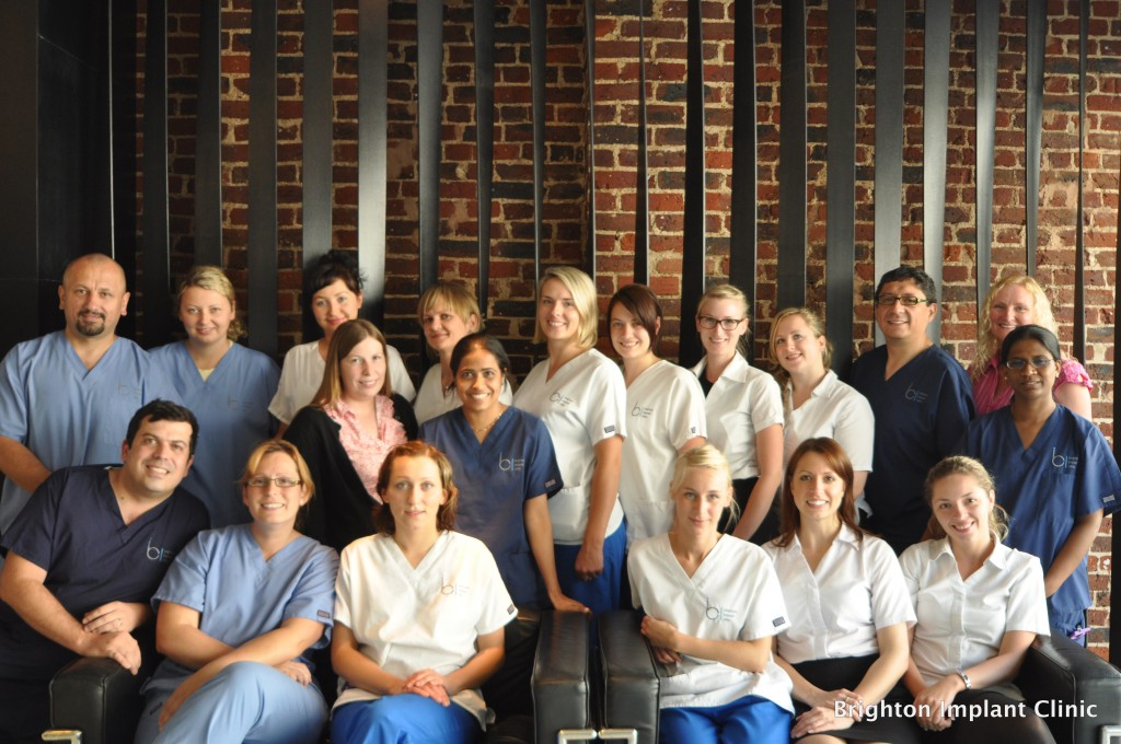 Brighton Implant Clinic Hove branch team