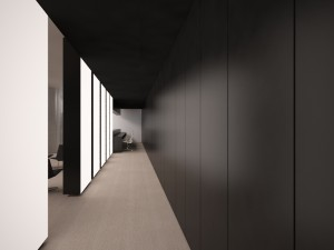 Internal corridor in brighton implant clinic