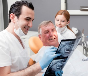 Regular visits to your dentist will ensure that oral cancer could be diagnosed early