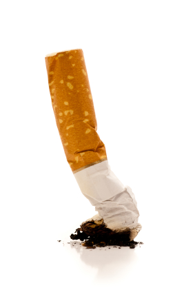 Cigarette smoking has been shown to discolor teeth