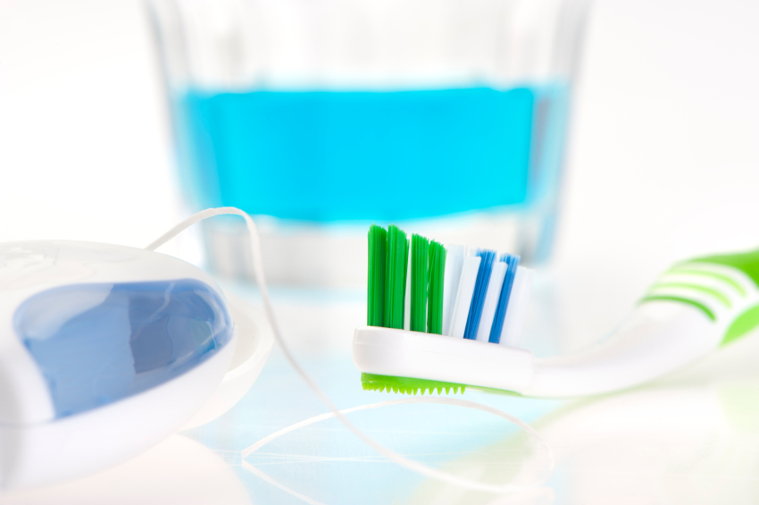 Use of Antiseptic Mouthwashes and Fluoride