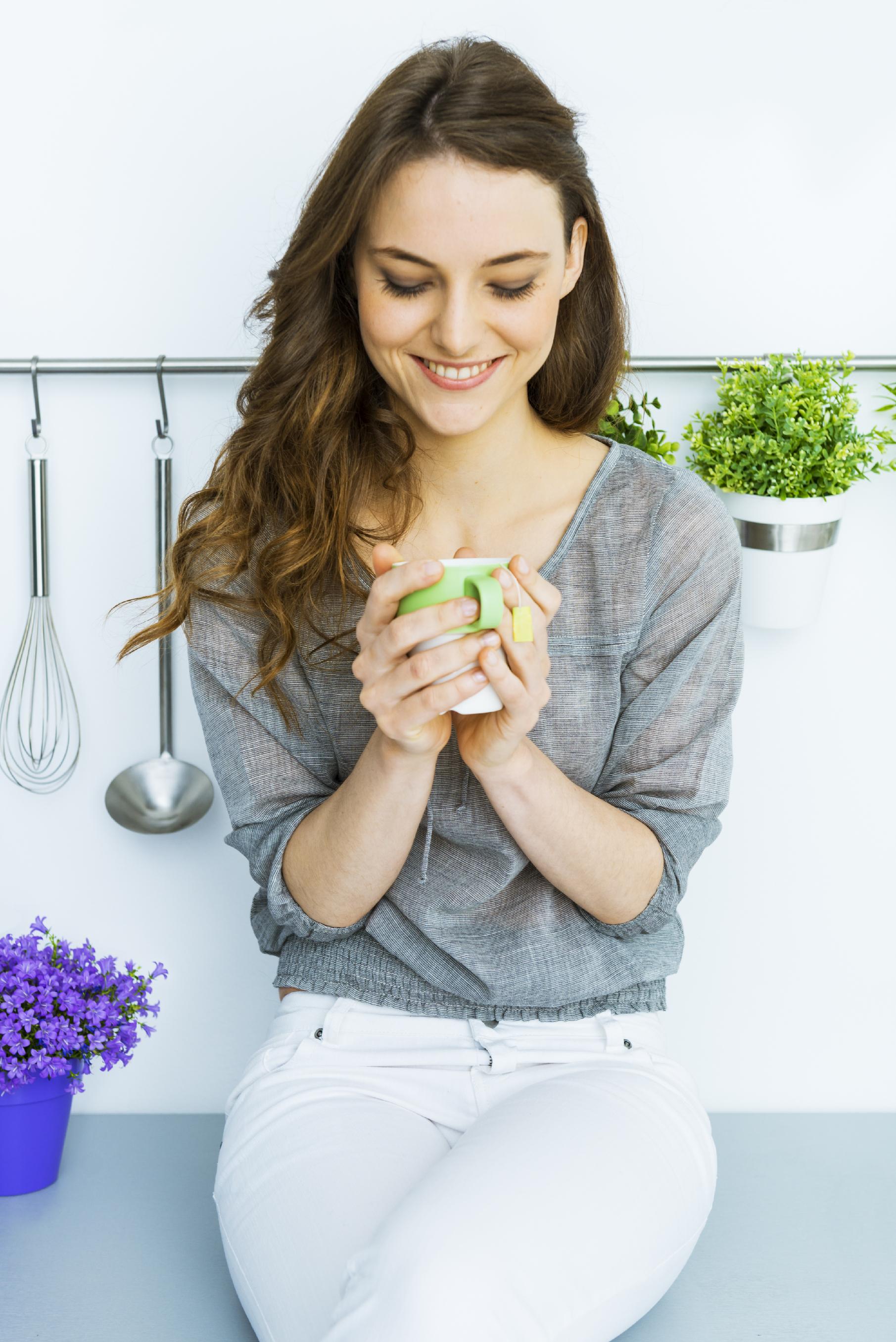 How green tea improves oral health