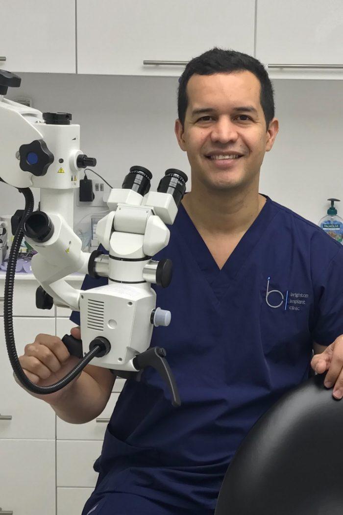 Dr Vanderley Da Silva at Brighton Implant Clinic