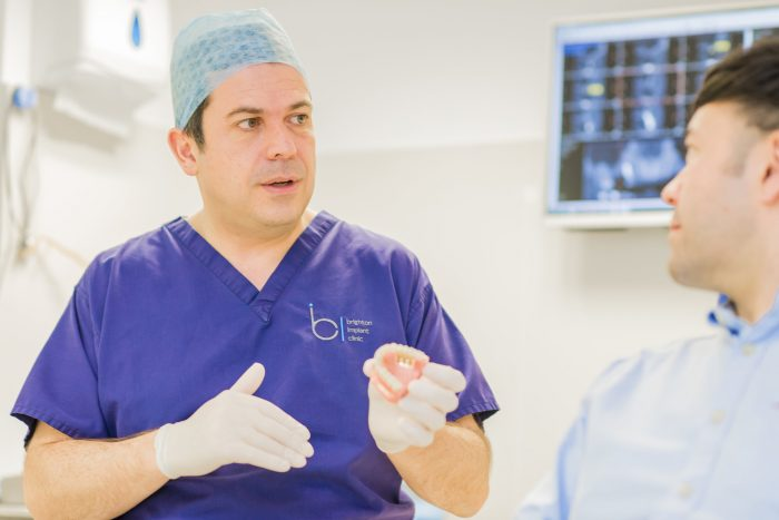 The NHS may provide dental implant treatment
