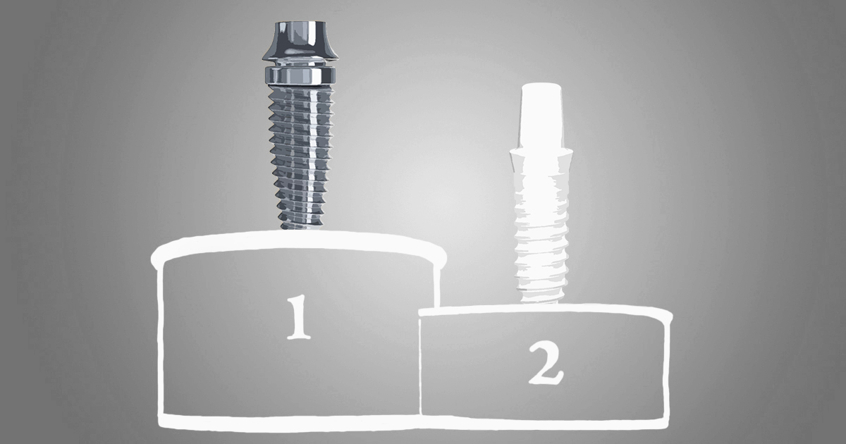 Are zirconia implants better than titanium?